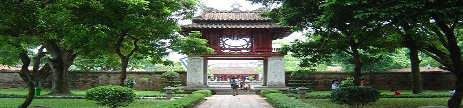 The temple of Literature -hanoi city tour