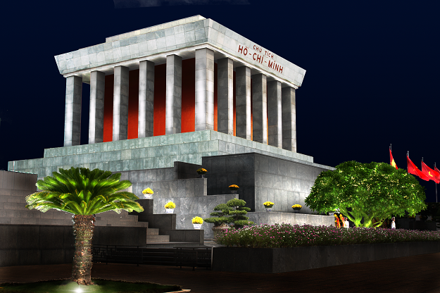 Ho Chi Minh mausoleum-hanoi city tour