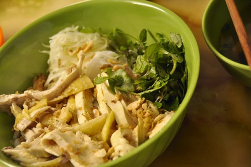 mix-rice-noodle-with-chicken